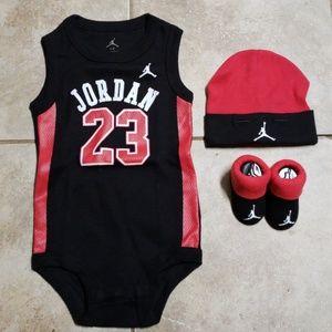 Jordan 23 matching baby set